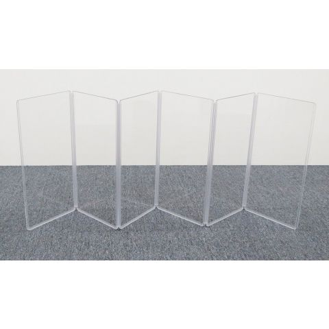 """ClearSonic A1224x6 72"""" wide x 24"""" high, 6-section Acrylic Panel by ClearSonic"""