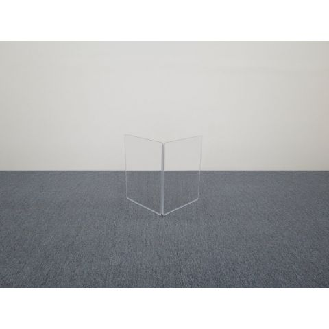 "ClearSonic A1824x2 36"" wide x 24"" high, 2-section Add-On Acrylic Panel w/Hinge by ClearSonic"