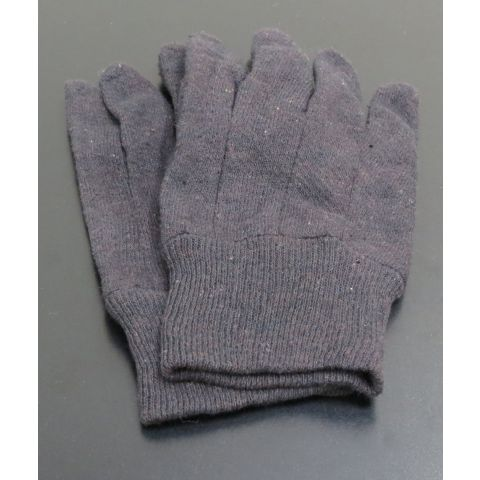 ClearSonic GLOVES Large Brown Jersey Gloves by ClearSonic