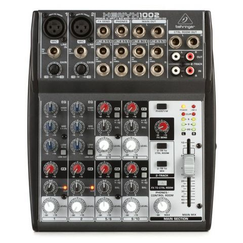 Behringer XENYX 1002 10-Input 2-Bus Audio Mixer by Behringer