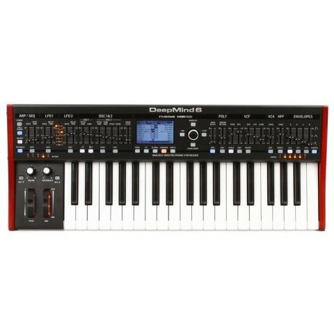 Behringer DEEPMIND6 True Analog 6-Voice Polyphonic Synthesizer by Behringer