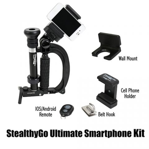 VariZoom STEALTHYGO ultimate smartphone photo and video shooting kit by VariZoom