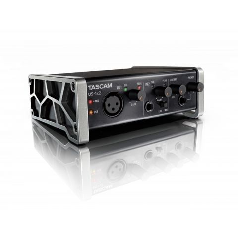 Tascam US-1x2 2x2 Channel USB Audio Interface by Tascam