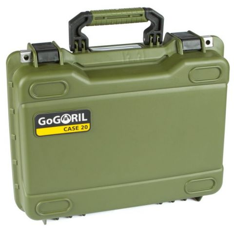 GoGORIL G20 Hard Case (No Foam, Green) by GoGoril