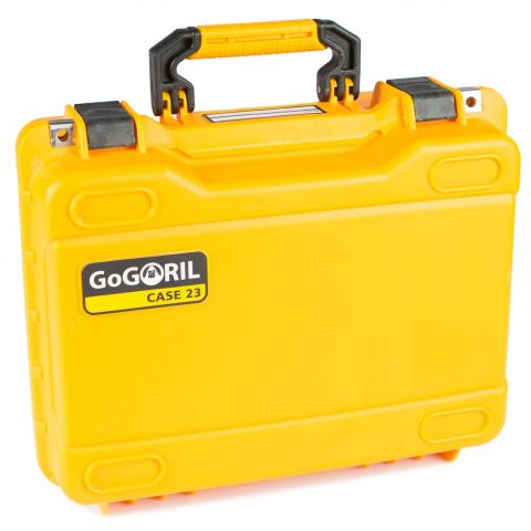 GoGORIL G23 Hard Case (No Foam, Yellow) by GoGoril