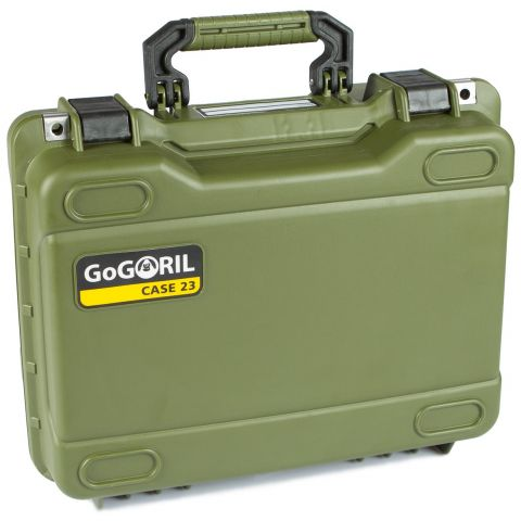 GoGORIL G23 Hard Case (No Foam, Green) by GoGoril