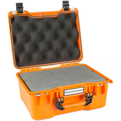 GoGORIL G23 Hard Case with Cubed Foam (Orange) by GoGoril