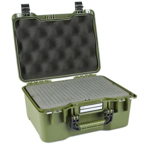 GoGORIL G23 Hard Case with Cubed Foam (Green) by GoGoril