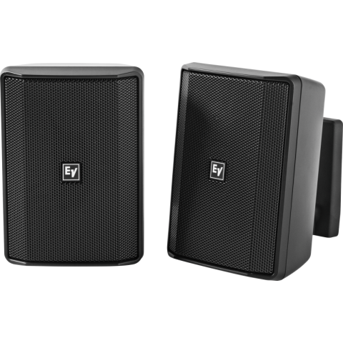 """Electro-Voice EVID-S4.2TB Quick Install Speaker 4"""" Cabinet 70/100V (Pair, Black) by Electro-Voice"""