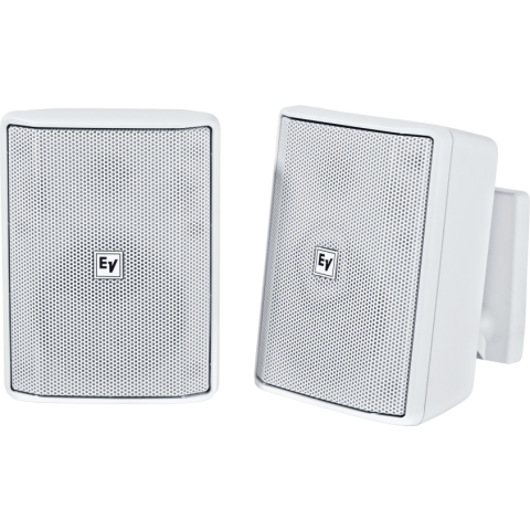 "Electro-Voice EVID-S4.2W Quick Install Speaker 4"" Cabinet 8Ohm (Pair, White)  by Electro-Voice"