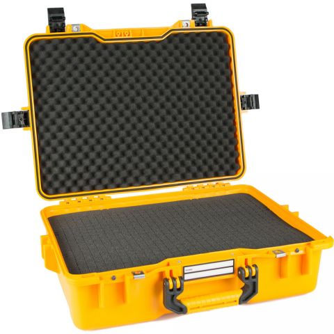 GoGORIL G33 Hard Case With Cubed Foam (Yellow) by GoGoril