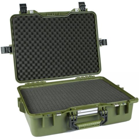 GoGORIL G33 Hard Case With Cubed Foam (Green) by GoGoril
