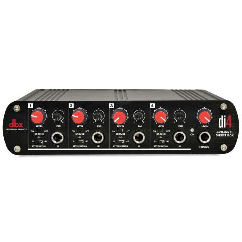 DBX Di4 Active Direct Box by DBX