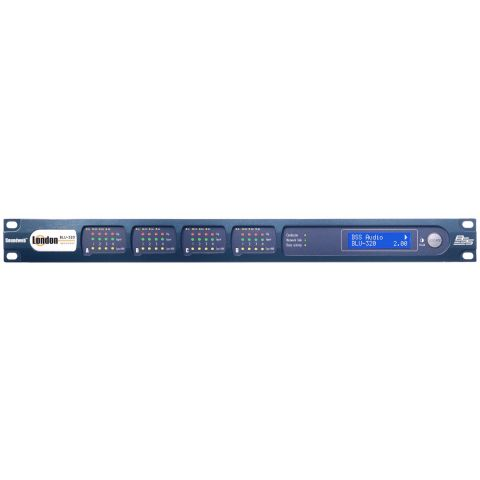 BSS Audio BLU-320 Networked I/O expander with BLU link and CobraNet by Bss Audio