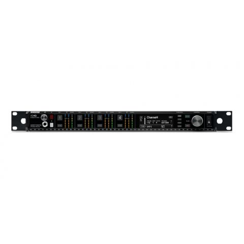 Shure AD4Q-DC=-C Four-channel receiver, 750-960 MHz by Shure
