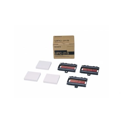 Sony UPC-21S A6 Small-size color print pack for use with UP-20, UP-21MD, UP-D21MD, UP-25MD, UP-D23MD, UP-D25MD printers by Sony