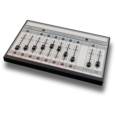 Arrakis Systems ARC-8 Analog Broadcast Console, 8 Channel - 1 Output, Unbalanced with USB by Arrakis Systems