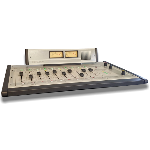 Arrakis Systems ARC-10U Analog Broadcast Console, 10 Channel - 2 Outputs, Unbalanced by Arrakis Systems