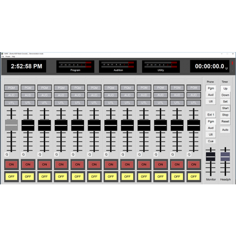 Arrakis Systems DARC Virtual Broadcast Console Software (PC not included)