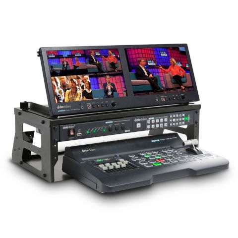 Datavideo GO-500 Studio 4 Channel HD/SD Portable Video Production Studio by Datavideo