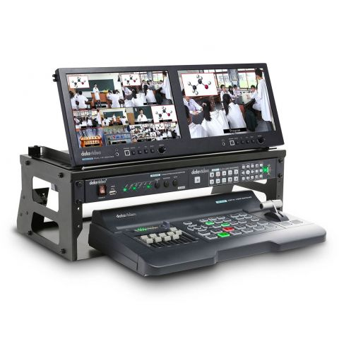 Datavideo GO-650 Studio 4 Channel HD Portable Video Production Studio by Datavideo