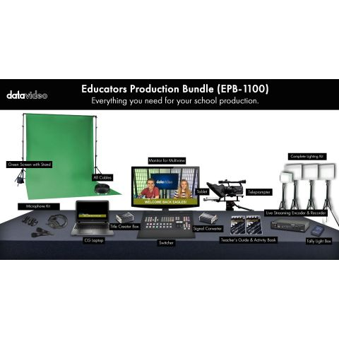 Datavideo EPB-1100 Educator's Production Bundle by Datavideo