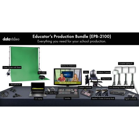 Datavideo EPB-2100 Educator's Production Bundle by Datavideo