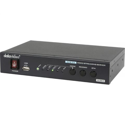 Datavideo NVS-25 H.264 Video Streaming Server / Recorder by Datavideo