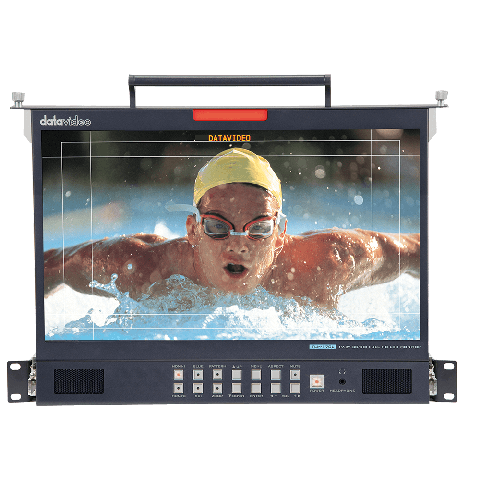 "Datavideo TLM-170LM 17.3"" 3G-SDI FULL HD LCD Monitor with 1U Foldable Rackmount Tray Unit by Datavideo"