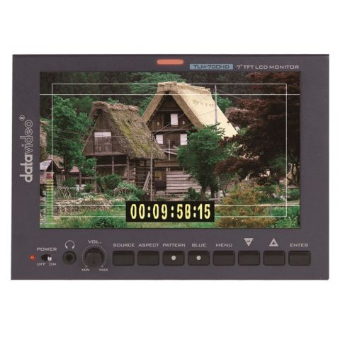 Datavideo TLM-700HD HD/SD TFT LCD Monitor by Datavideo