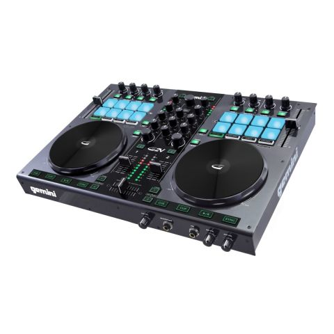 Gemini G2V 2-CHANNEL VIRTUAL DJ CONTROLLER by Gemini