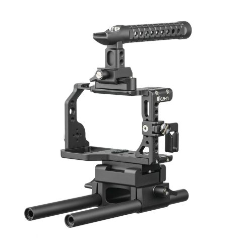 Ikan STR-A6 STRATUS Complete Cage for Sony a6500 Camera Body by Ikan