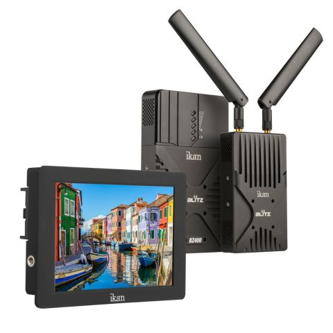 Ikan BZ400-S7H-KIT Blitz 400 Wireless Video System and S7H Monitor Kit by Ikan