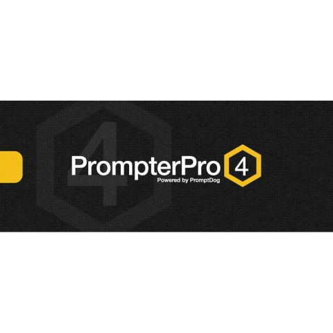 Ikan PrompterPro4-D PrompterPro 4 Teleprompting Software for PC & Mac (Digital Download Code) by Ikan