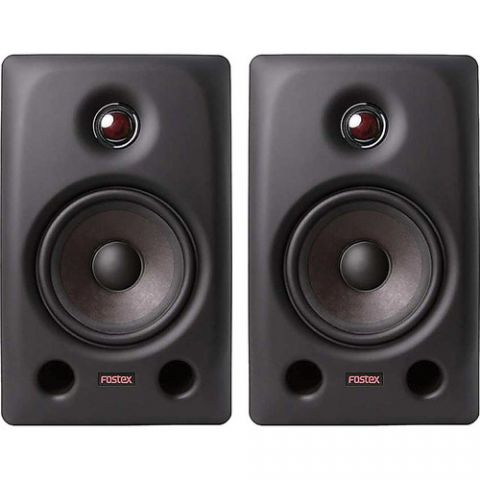 """Fostex PX-5 - 5.2"""" 2-Way Active Professional Monitor Speaker (Pair) by Fostex"""