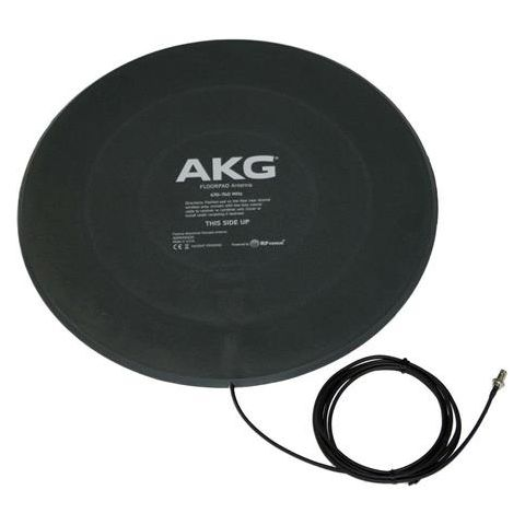 AKG Acoustics Floorpad Passive Circularly Polarized Directional Antenna, 470-740MHz Frequency Range, 50 Ohms Impedance  by AKG