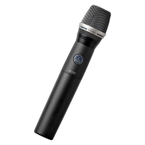 AKG Acoustics HT4500 Reference Wireless Handheld Transmitter for WMS 4500 System, Band 1: 650-680MHz, 35Hz-20kHz Audio Bandwidth, 50mW RF Output Power  by AKG