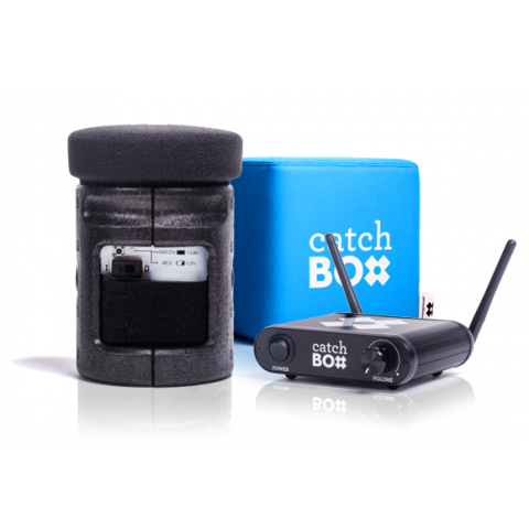 Catchbox 2.4 Complete Wireless Microphone System by CatchBox
