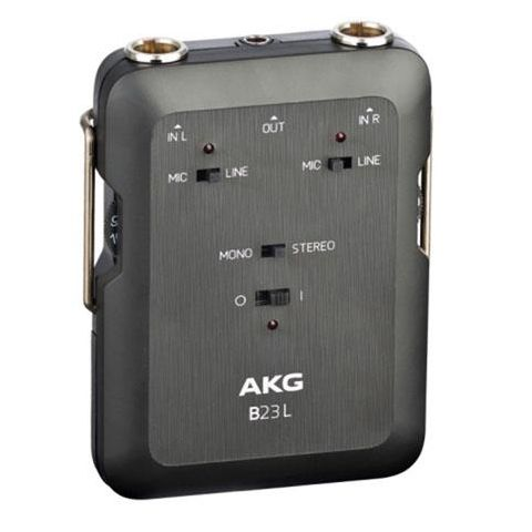 AKG Acoustics B23L Phantom Power Supply and 2 Channel Mini Recording Mixer, 20Hz-20kHz Frequency Response, 5kOhms Input Impedance  by AKG