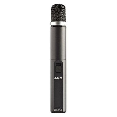 AKG Acoustics C1000S Multipurpose Small-Diaphragm Condenser Microphone, 50Hz-20kHz Frequency range, 200Ohms Electrical Impedance, 3-Pin XLR Connector  by AKG