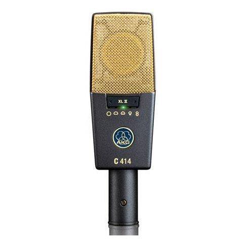 AKG Acoustics C 414 XL II/ST Large-Diaphragm 5-Pattern Condenser Microphone, Matched Pair  by AKG
