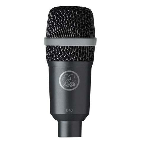 AKG Acoustics D40 Supercardioid Instrument Microphone for Musical Instruments and Live Applications  by AKG