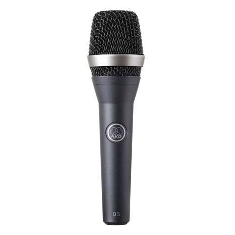 AKG Acoustics D 5 Standard Dynamic Vocal / Speech Handheld Microphone for Live Applications and Vocals  by AKG