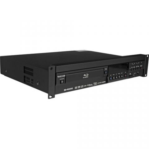 Tascam BD-R2000 Rackmount High-Definition Blu-Ray/DVD Recorder  by Tascam
