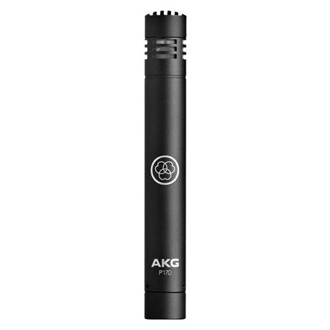 AKG Acoustics P170 General Purpose Instrumental Small Diaphragm Condenser Microphone, 20Hz-20kHz Frequency Response, Black  by AKG