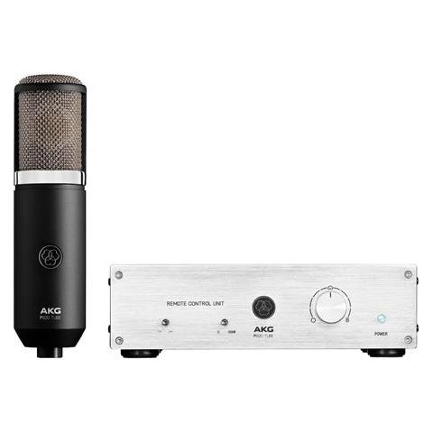 AKG Acoustics P820 Multi-Pattern Dual-Capsule Tube Condenser Microphone with Remote Control Unit, 20Hz-20kHz Frequency Response  by AKG