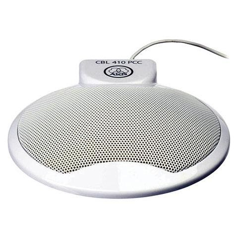 AKG Acoustics 410 PCC Conference and VOIP Microphone, Omnidirectional Polar Pattern, White  by AKG
