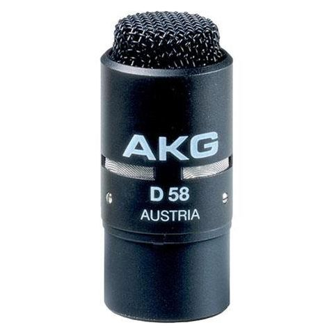 AKG Acoustics D58 E Professional Dynamic Noise-Cancelling Microphone, 70Hz-10kHz Frequency Response, 240 Ohms Impedance  by AKG