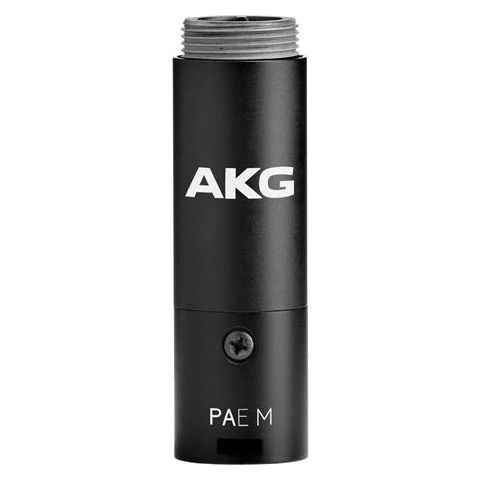 AKG Acoustics PAE M Reference Phantom Power Module Adapter, 3-Pin XLR Connector, 20Hz to 20kHz Audio Frequency Bandwidth, 2000Ohms Load Impedance  by AKG
