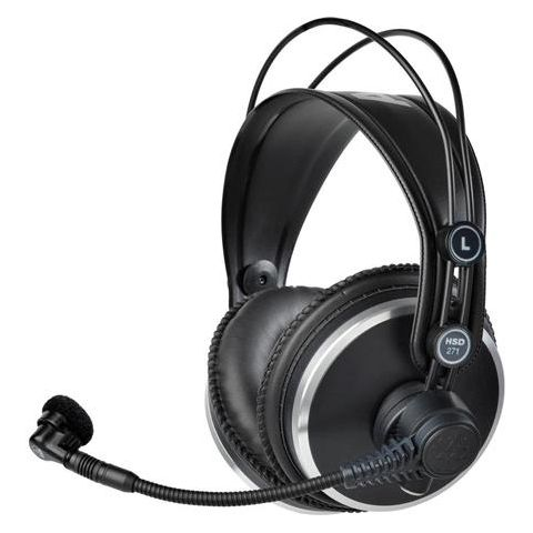 AKG Acoustics HSD271 Professional Headset with Dynamic Mic for Recording/Intercom/ENG & EFP/Video Production, 16-28000Hz Headphone & 60 to 17000Hz Mic Frequency  by AKG